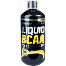 БЦАА, BioTechUSA, BCAA Liquid, (лимон), 1000 мл