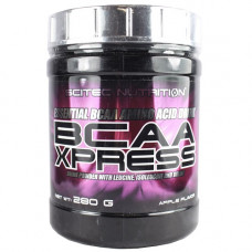 БЦАА, Scitec Nutrition, BCAA Xpress, (яблоко), 280 г