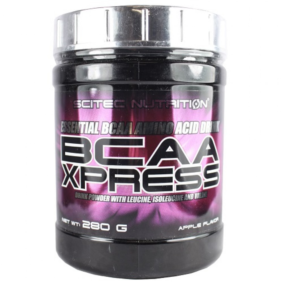 БЦАА, Scitec Nutrition, BCAA Xpress, (яблуко), 280 г