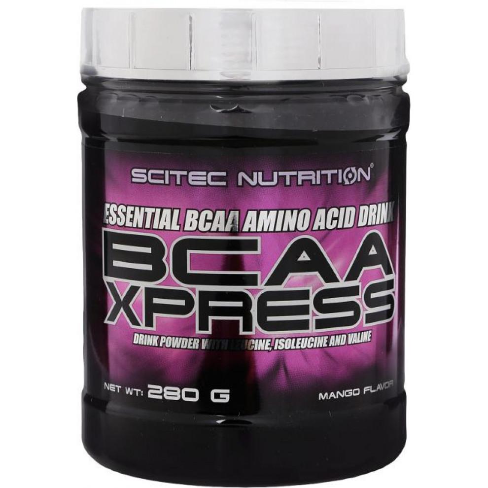 БЦАА, Scitec Nutrition, BCAA Xpress, (манго), 280 г