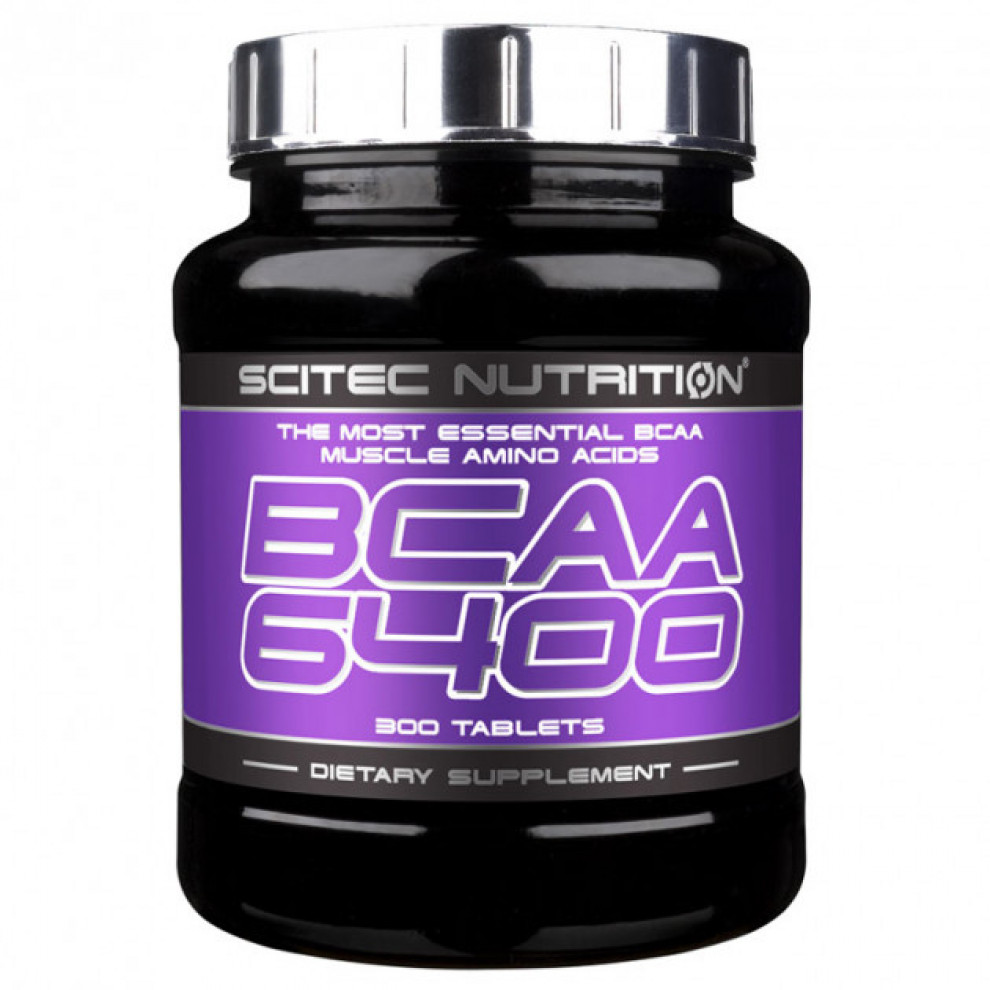 БЦАА 6400, Scitec Nutrition, BCAA, 6400 мг, 125 таблеток