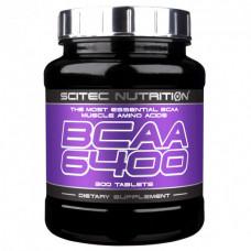 БЦАА 6400, Scitec Nutrition, BCAA, 6400 мг, 375 таблеток