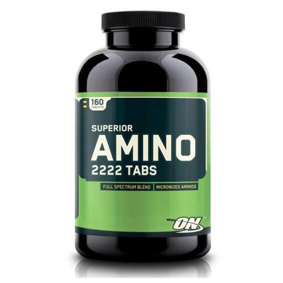 Амино 2222, Optimum Nutrition, Superior Amino 2222, 160 таблеток