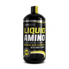 Аміно, BioTechUSA, Amino Liquid, (лимон), 1000 мл