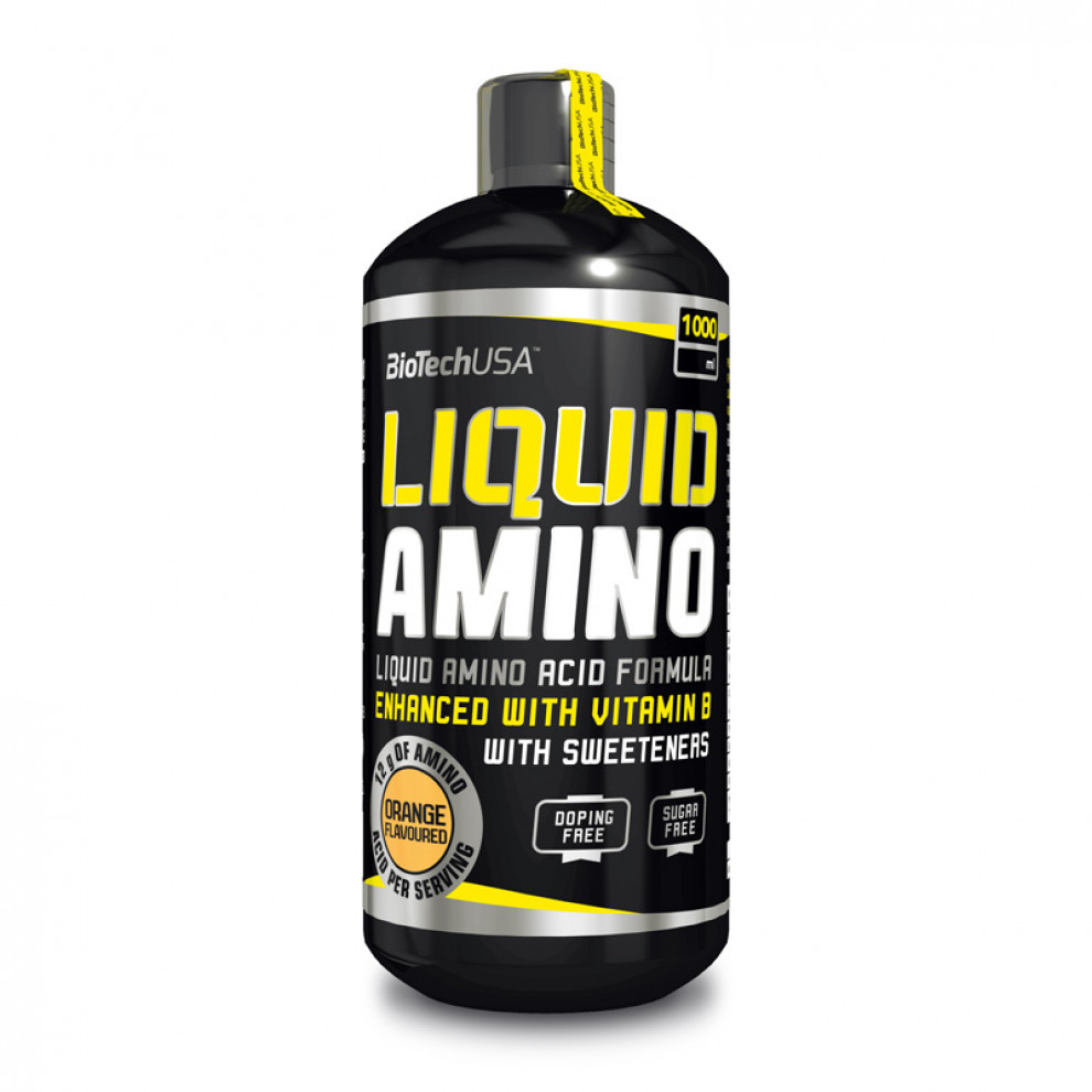 Аміно, BioTechUSA, Amino Liquid, (апельсин), 1000 мл