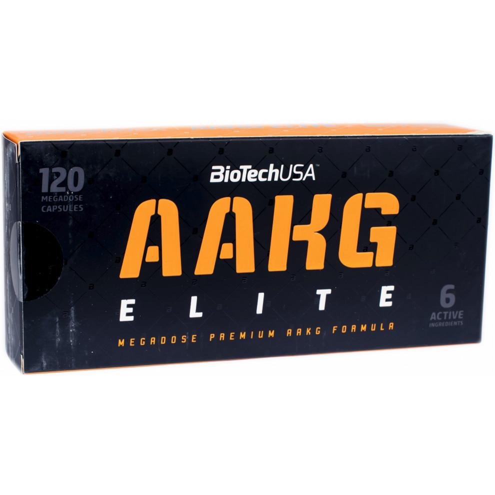L-аргінін, BioTechUSA, L-arginine, 900 мг, 15 капсул