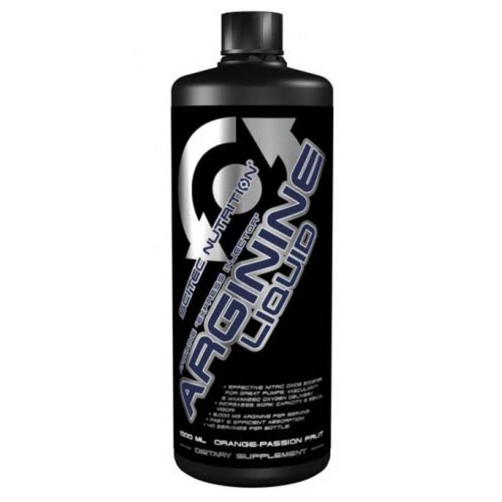 Аргінін питний, Scitec,  Arginine Liquid, 1000 мл, 5000 мг
