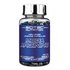 Мега Аргинин, Scitec, Mega Arginine, 90 капсул, 1300 мг