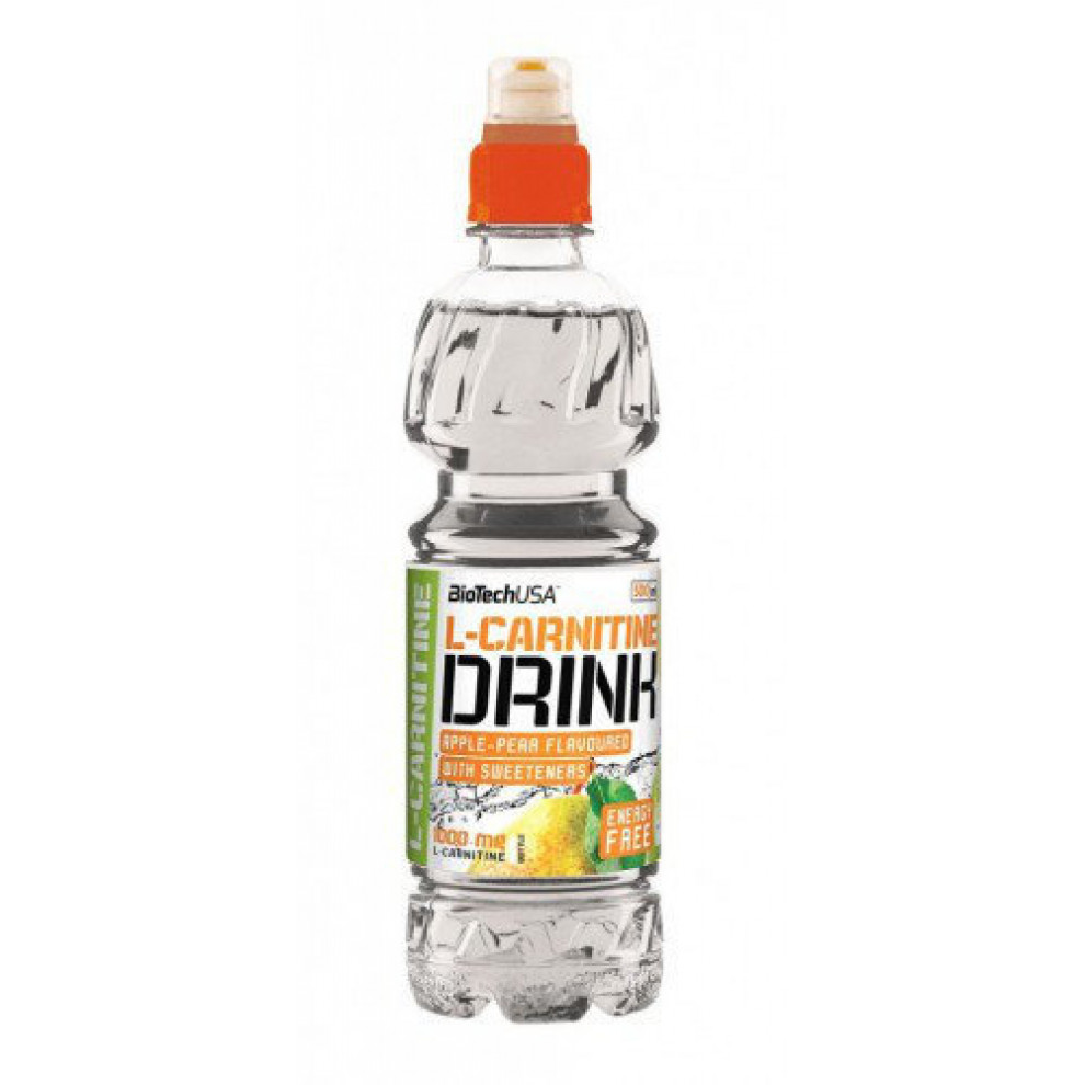 L-Карнітин, BioTechUSA, L-Carnitine Drink Liquid Aple-Pear, 500 мл