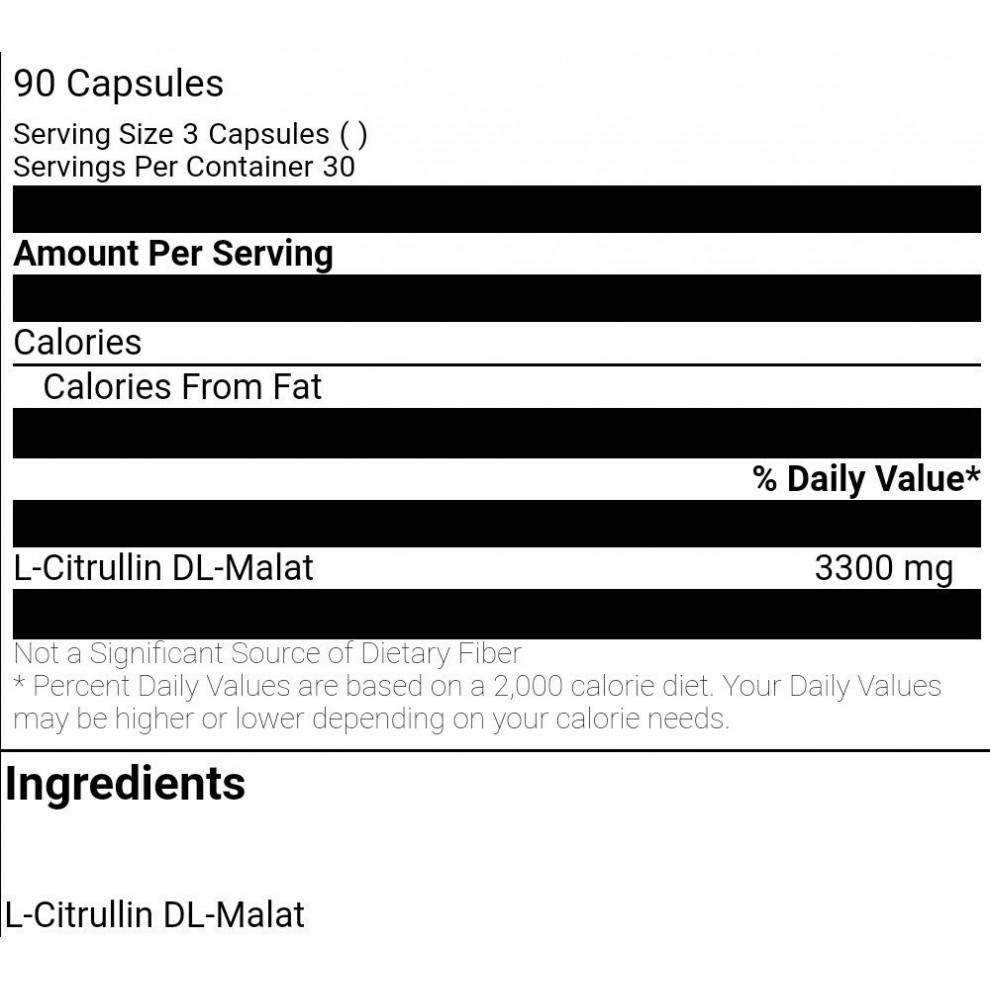 L-карнітин, BioTechUSA, L-carnitine, 1500 мг, 15 капсул
