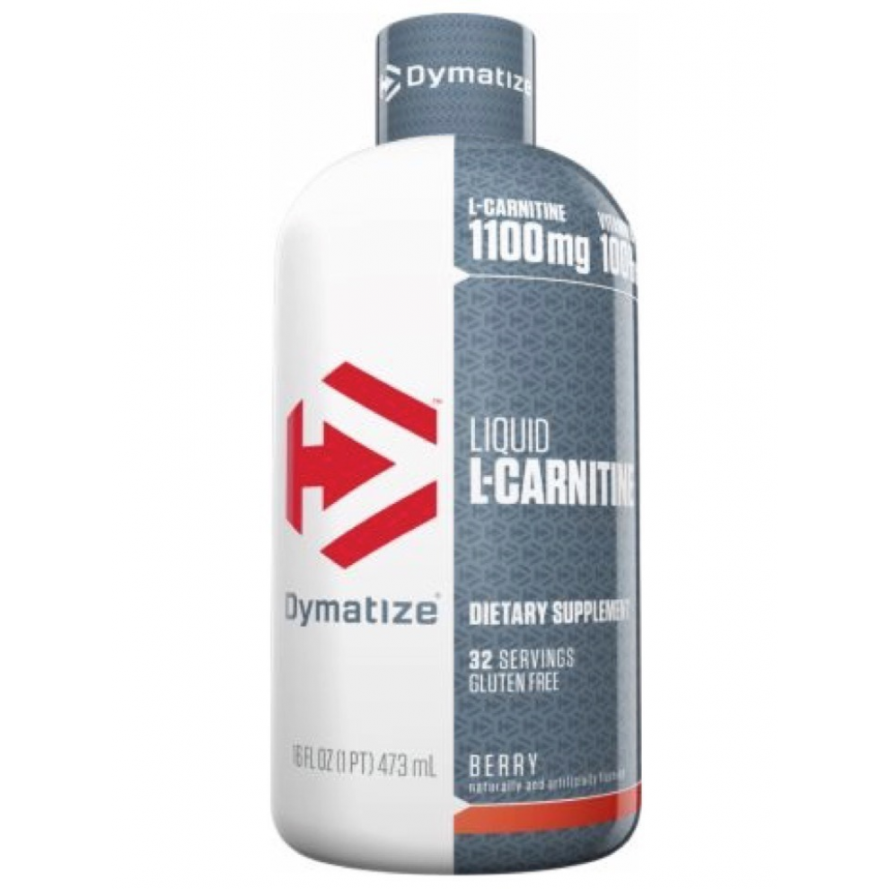 L-карнитин, Dymatize L-Carnitine Liquid 1100 berry, 473мл