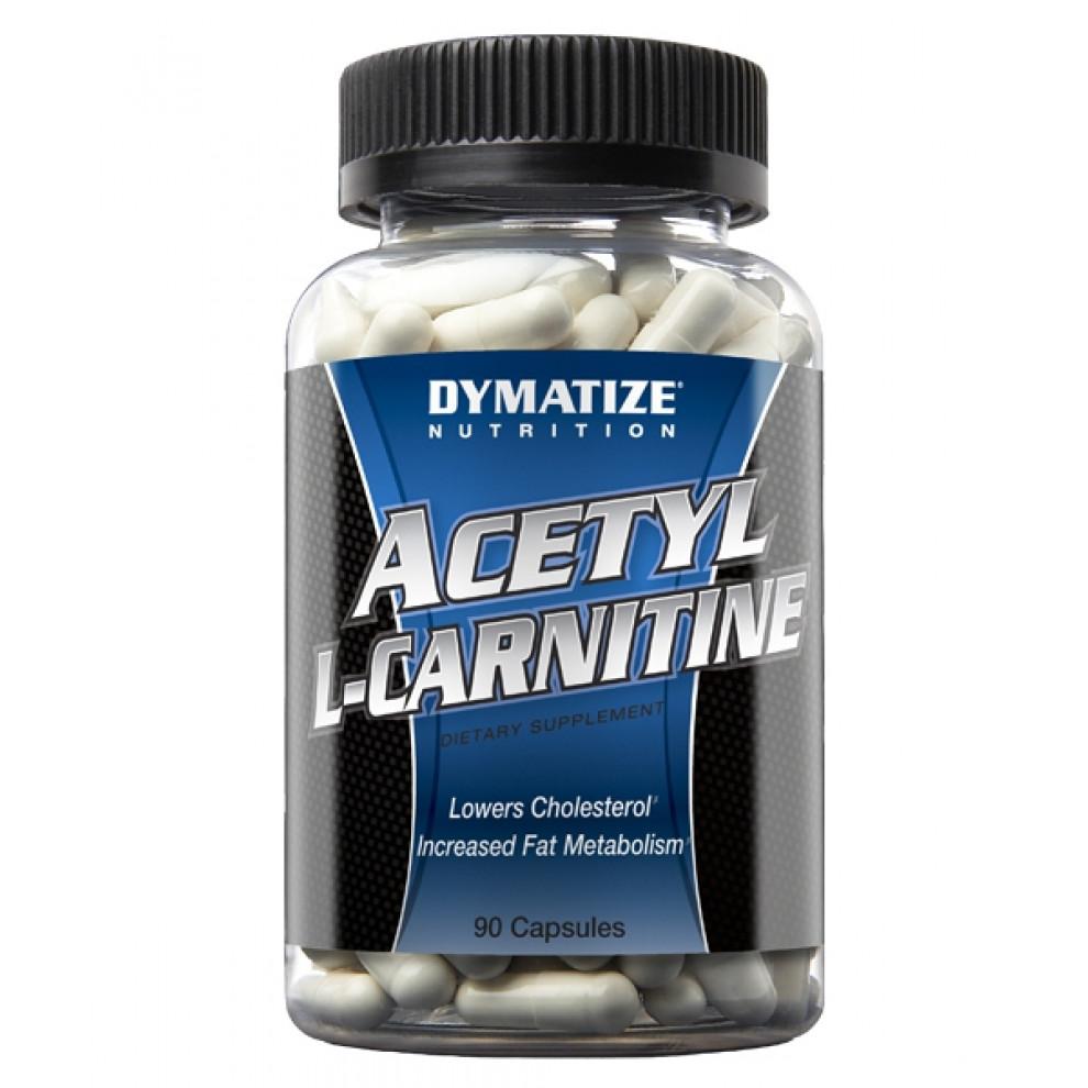 Ацетил L-карнитин, Dymatize Nutrition, Acetyl l-Carnitine, 90 капсул