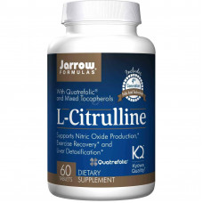 L-Цитрулін, Jarrow, L-Citrulline, 60 таблеток, 1000 мг