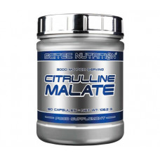 Цитрулін маалат, Scitec, Citrulline Malate, 90 капсул, 3000 мг
