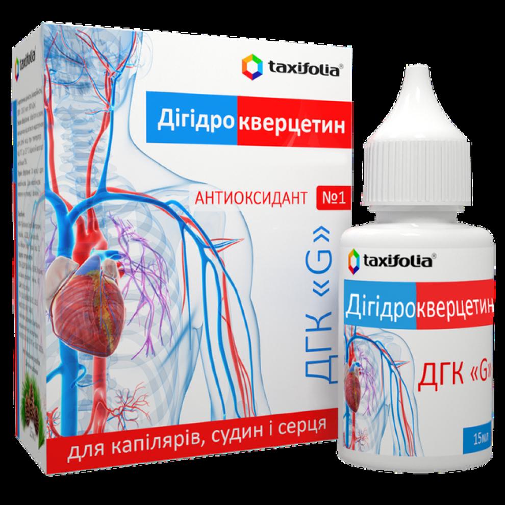 Дигидрокверцетин-G, Taxifolia, 10 гр, 15 мл