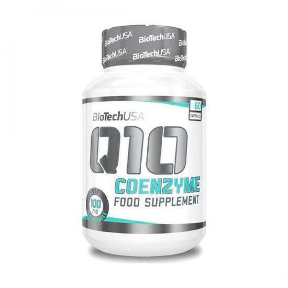 Коэнзим H2O Co-Q10, BioTechUSA, 60 капсул, 100 мг