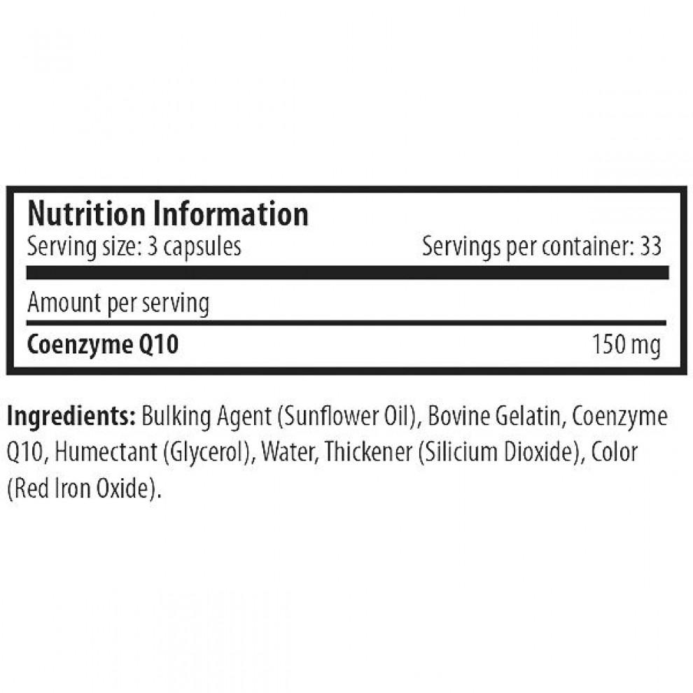 Коэнзим Co-Q10, Scitec, 100 капсул, 30 мг