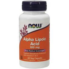 Альфа ліпоєва кислота, Noe Foods, Alpha Lipoic Acid, 100 мг, 60 капсул