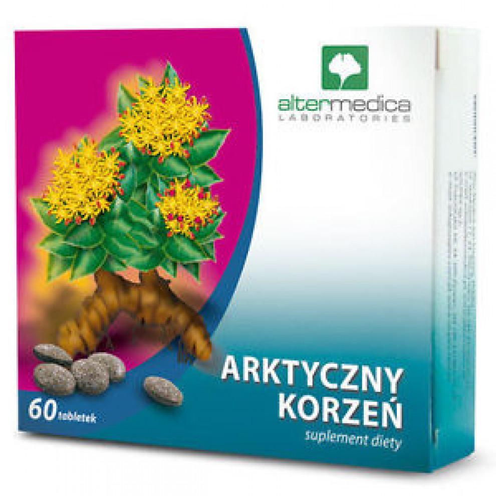 Арктический корень, Altermedica, Arctic Root, 60 таблеток