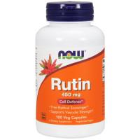 Рутин, Now Foods, Rutin, 450 мкг, 100 капсул
