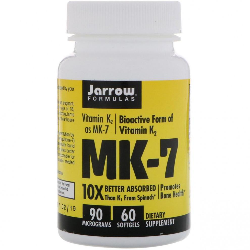 Вітамін MK-7 + К-2, Jarrow, 60 капсул