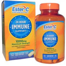 Вітамін С, Ester-C, Vitamin C, 1000 мг, 120 таблеток