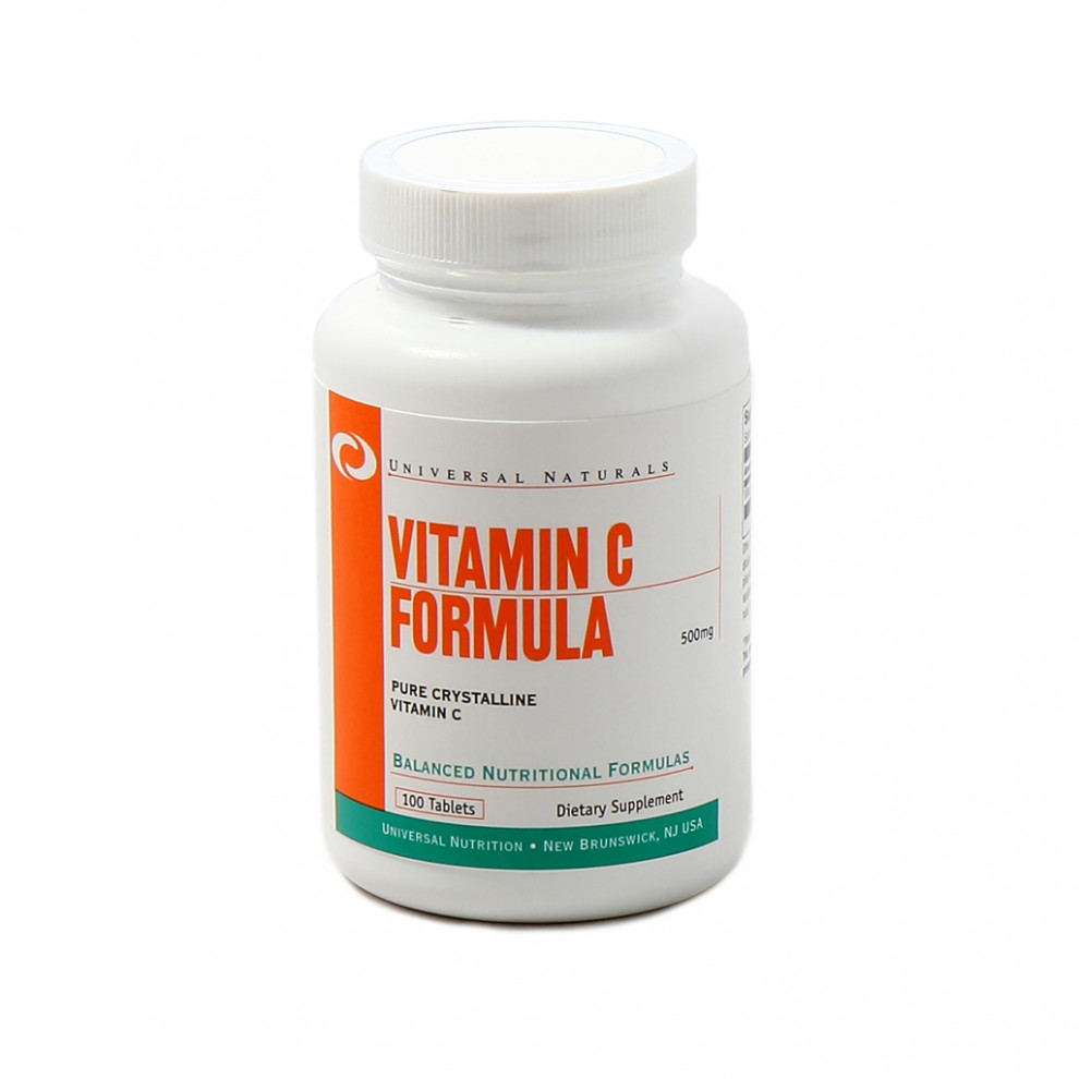 Витамин С, UN, Vitamin C, 500 мг, 100 таблеток