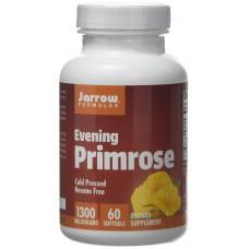 Олія вечірньої примули, Jarrow, Evening Primrose Oil, 1300 мг, 60 капсул