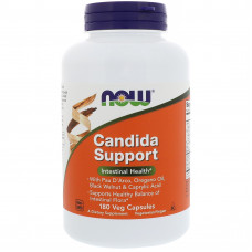 Протикандидний комплекс, Now Foods, Candida Support, 180 капсул