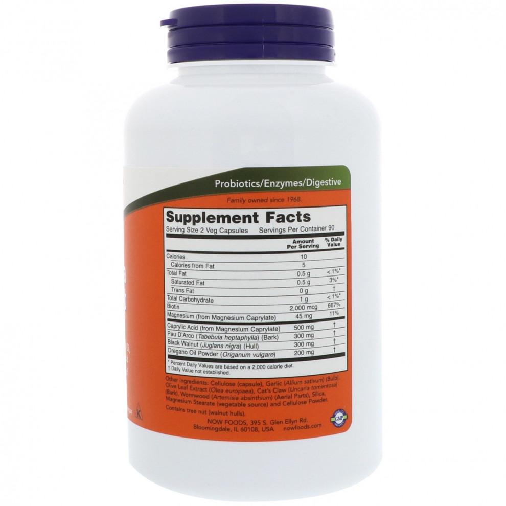 Протикандидний комплекс, Now Foods, Candida Support, 180 капсул