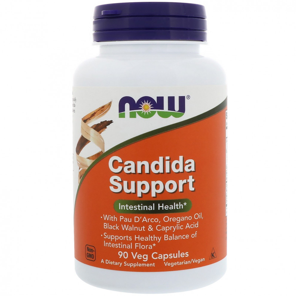 Протикандидний комплекс, Now Foods, Candida Support, 90 капсул
