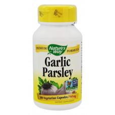 Часник + петрушка, Nature`s Way, Garlic Parsley, 100 капсул