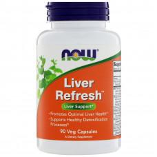 Підтримка печінки, Now Foods, Liver Refresh, 180 капсул