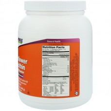 Соняшниковий лецитин, Now Foods, Sunflower Lecithin, 454 г