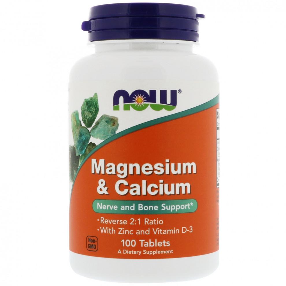 Цитрат магнію, Now Foods, Magnesium Citrate, 200 мкг, 100 таблеток