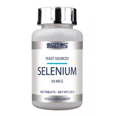 Селен, Scitec, Selenium, 50 мкг, 100 таблеток