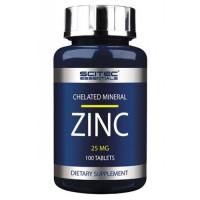 Цинк, Scitec, Zinc, 25 мг, 100 таблеток