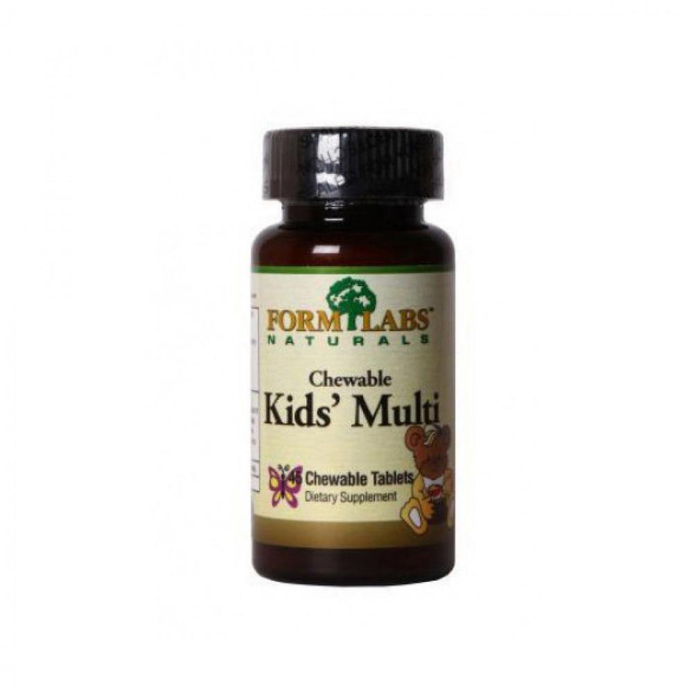 Мультивітаміни, FL, Kids` Multi, 45 таблеток