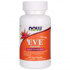 Витаминный комплекс для женщин, Now Foods, EVE, 120 таблеток