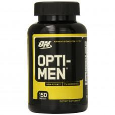 Мультивітаміни, Optimum Nutrition, Opti-Men, 150 таблеток