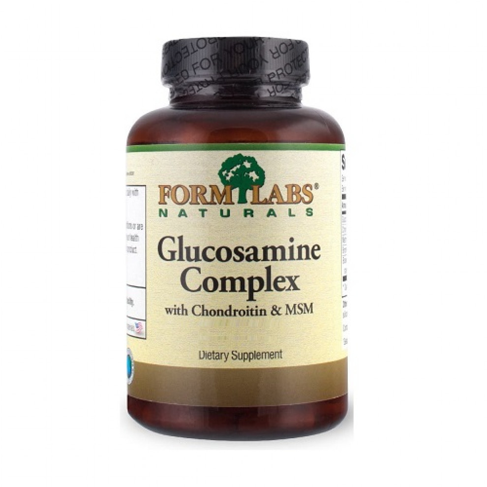Глюкозамін комплекс, Form Labs, Glucosamine complex with chondroitin & MSM, 120 капсул