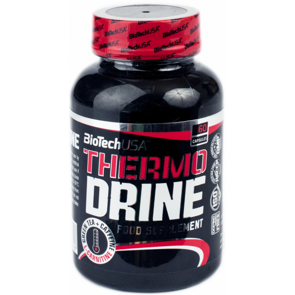 Термо Драйн, BiotechUSA, Thermo Drine, 60 капсул
