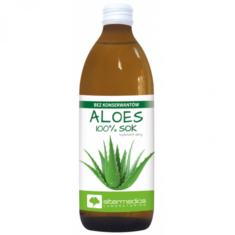 Сок алоэ вера, Altermedica, Aloe Vera Juice, 1 л