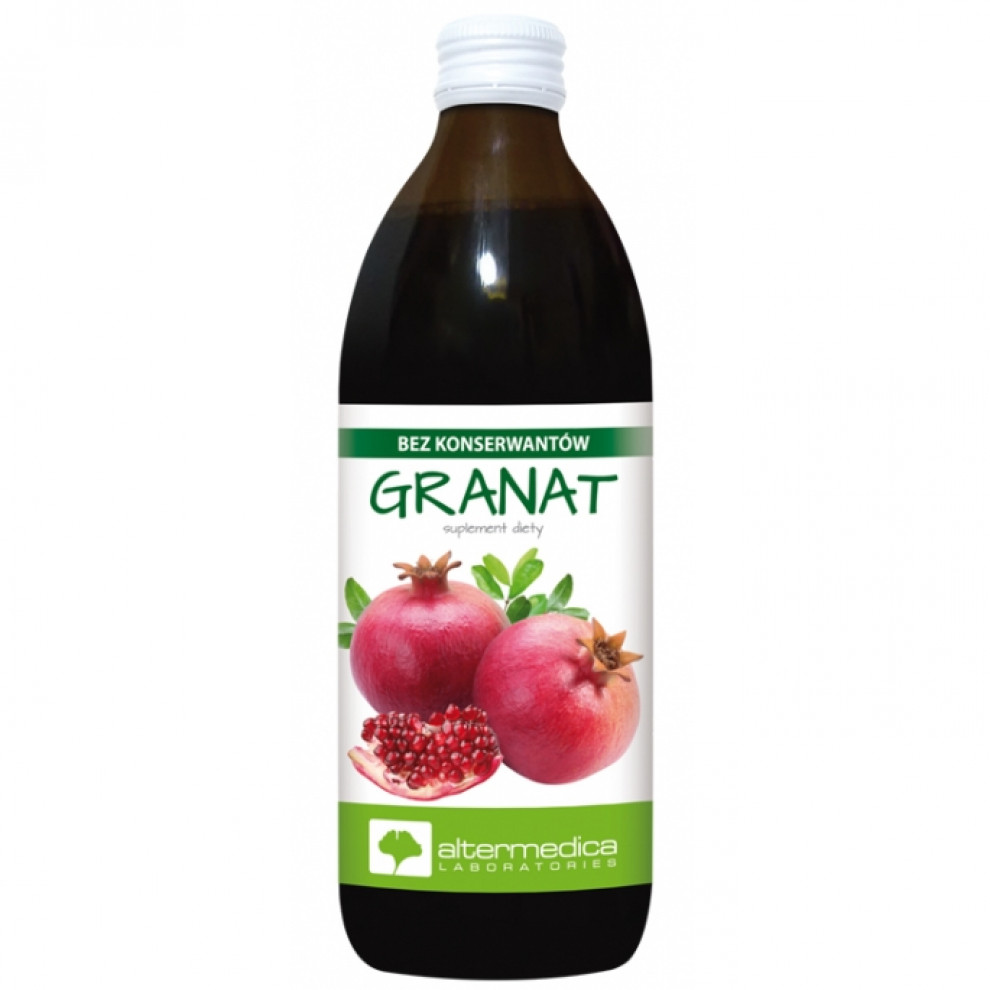 Сок граната, Altermedica, Pomegranate Juice, 500 мл
