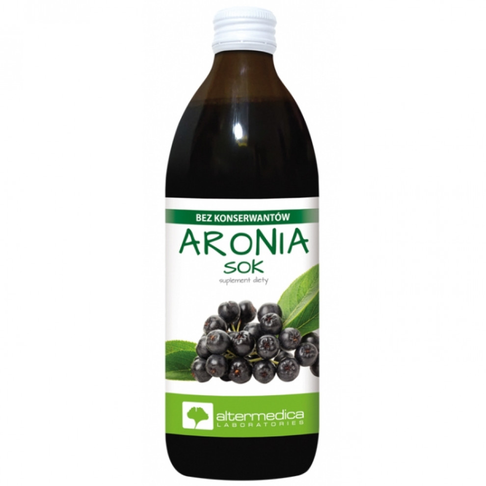 Сок аронии, Altermedica, Aronia juice, 500 мл