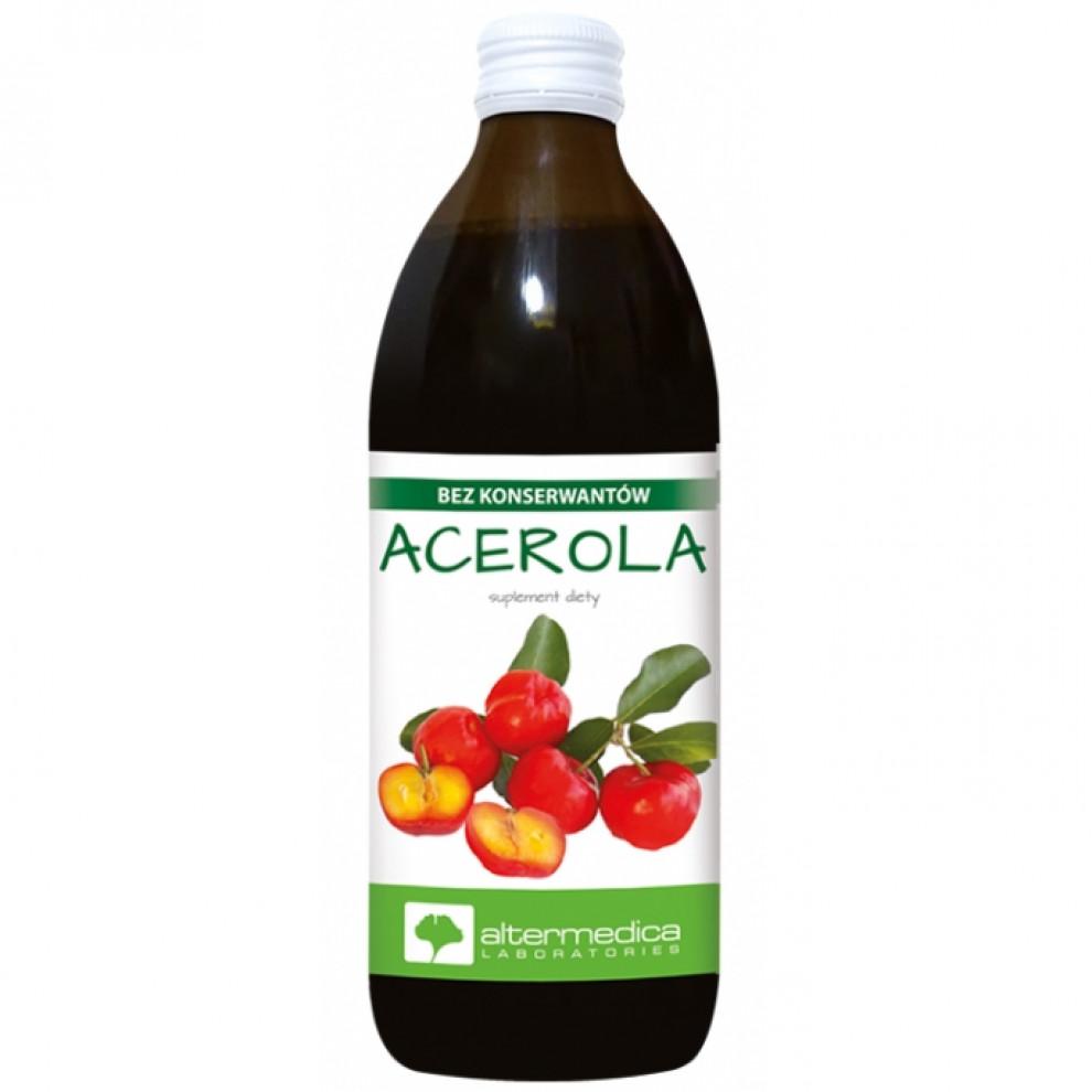 Сок ацеролы, Altermedica, Acerola juice, 500 мл