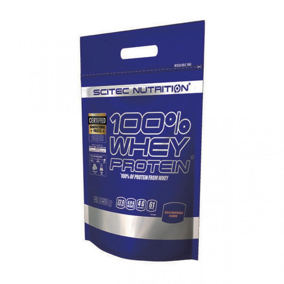 Протеїн,  Whey Protein  (ваніль), Scitec Nutrition, 1,85 кг