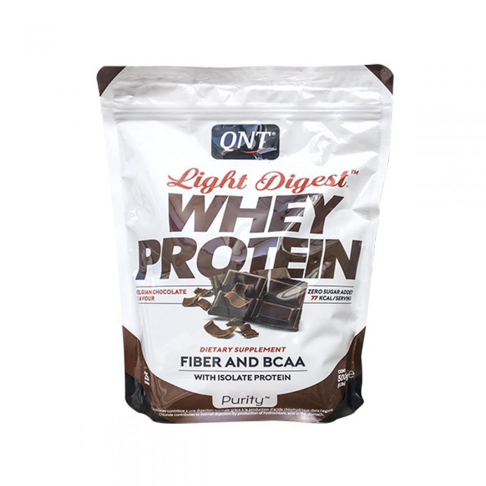 Протеин, QNT, Whey Protein, Бельгийский шоколад, 500 г