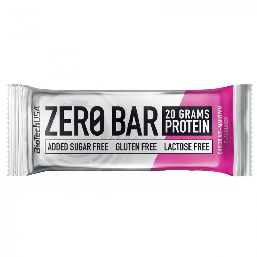 Протеиновый батончик Zero Bar (сливовый), BioTechUSA, 20 г