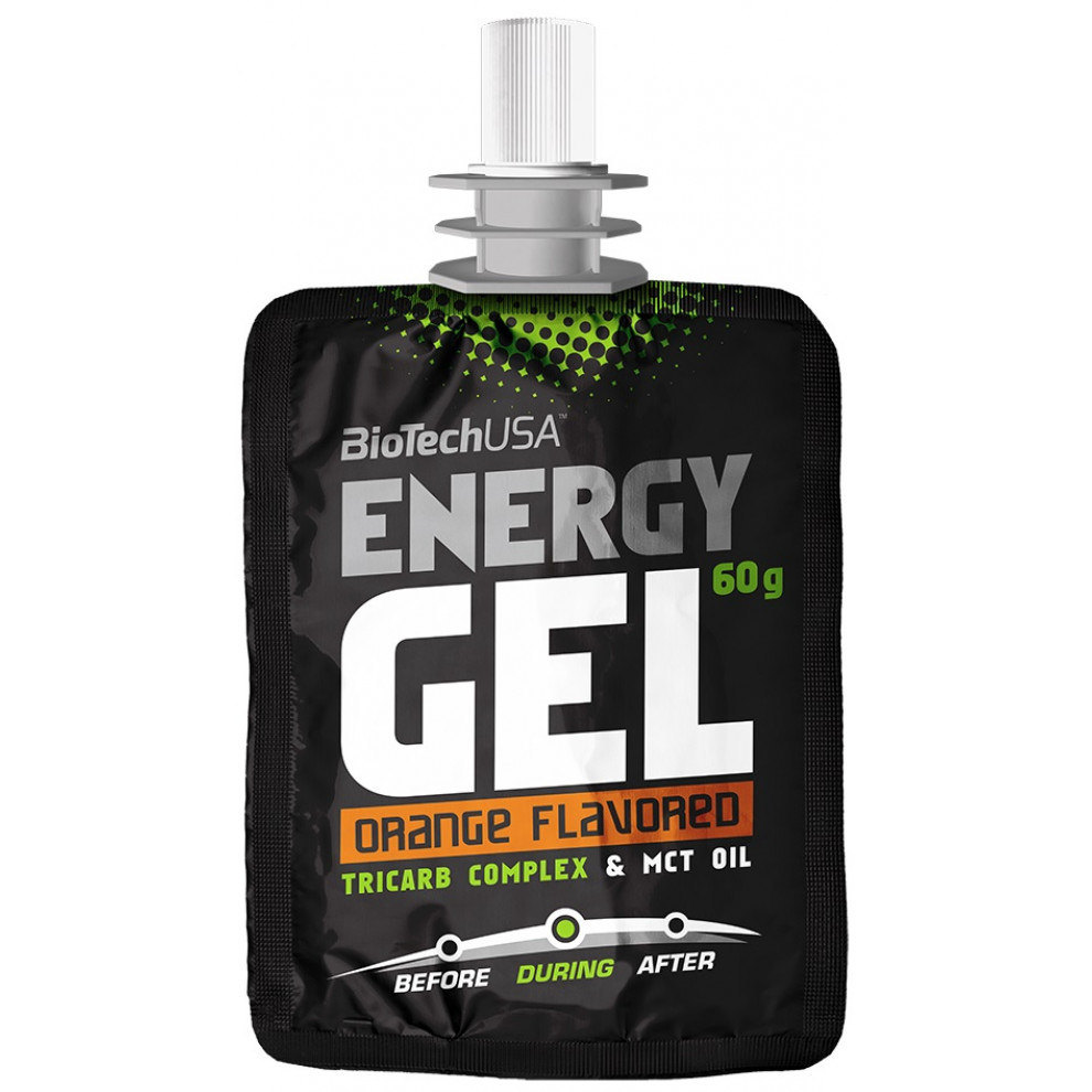 Энергетический гель, BiotechUSA, Energy Gel, orange, 60 г